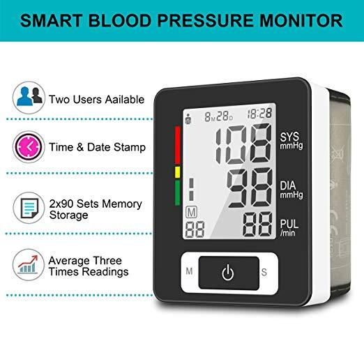 2019 Best Selling Wrist BP Monitor