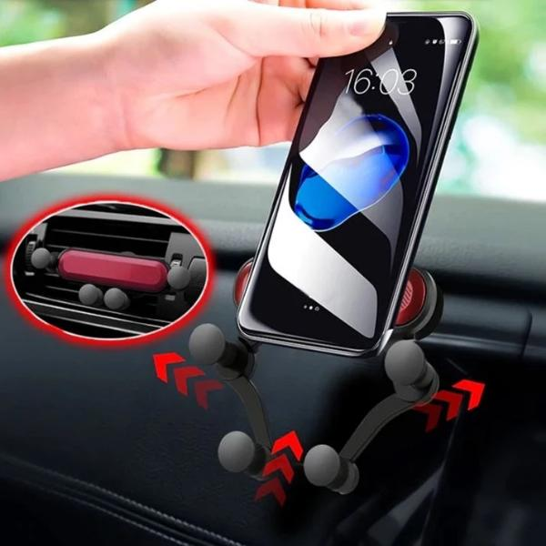 Universal Auto-Grip Phone Holder