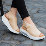 New 2019 Summer Comfy Round-Toe Sandal