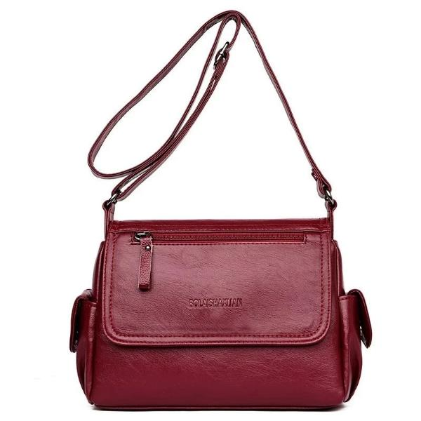 Vintage Soft Leather Crossbody Bag