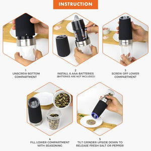 Automatic Electric Spice Grinder