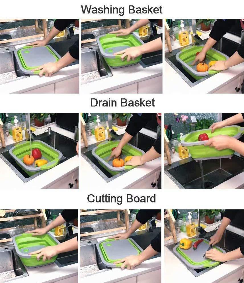Foldable Multifunction Chopping Board
