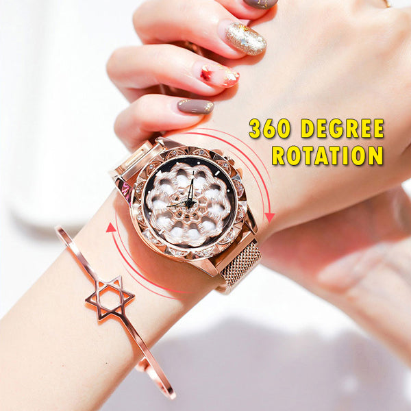 Luxury 360° Rotation Magnetic Watch