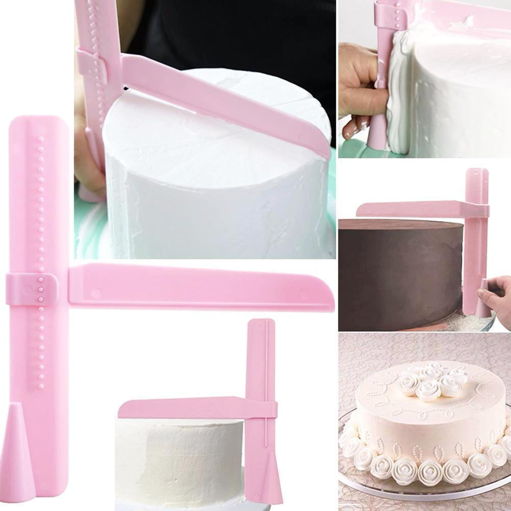 Adjustable Cake Scraper Smoother