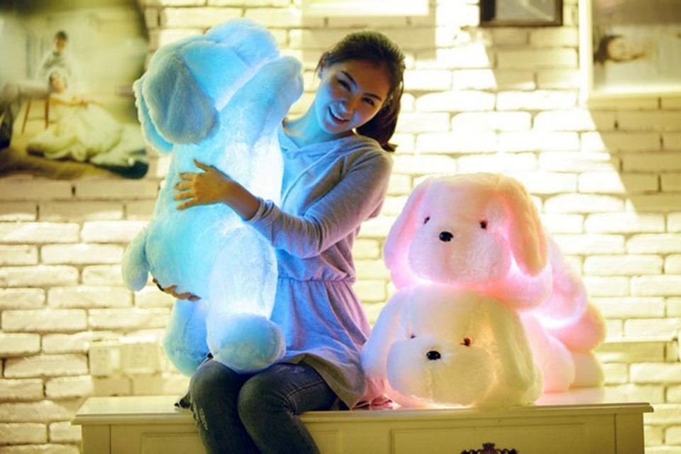 Adorable Luminous Plush Puppy