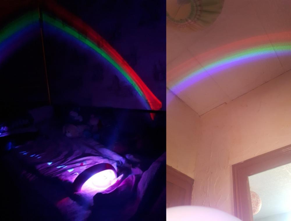 Amazing Rainbow Projector