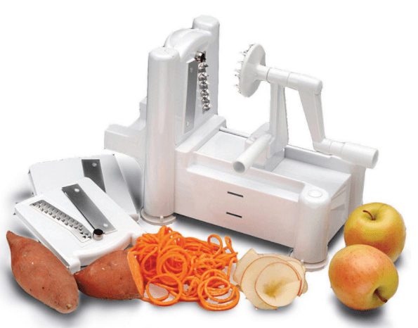 Big Boss Slice-A-Roo Ultimate Tri-Blade Vegetable And Fruit Peeler