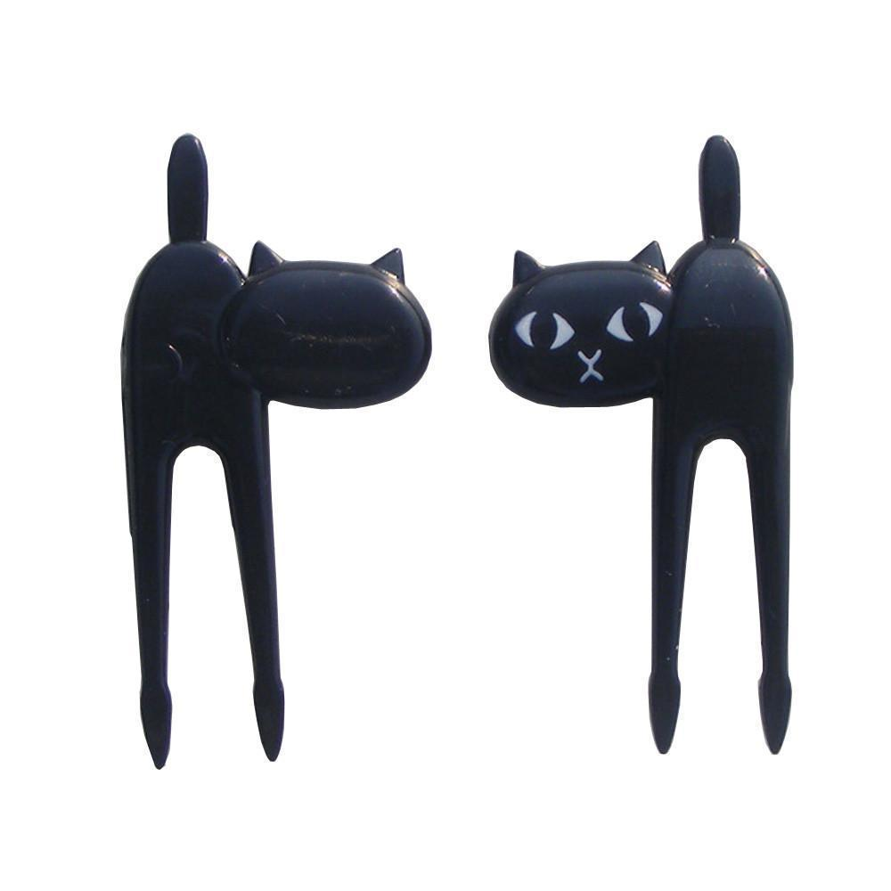 Black Cat Fruit Fork