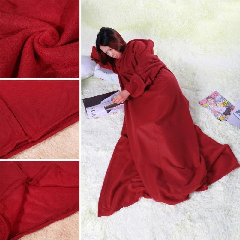 Blanket With Sleeve