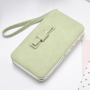 Bow Clutch Bag Purse