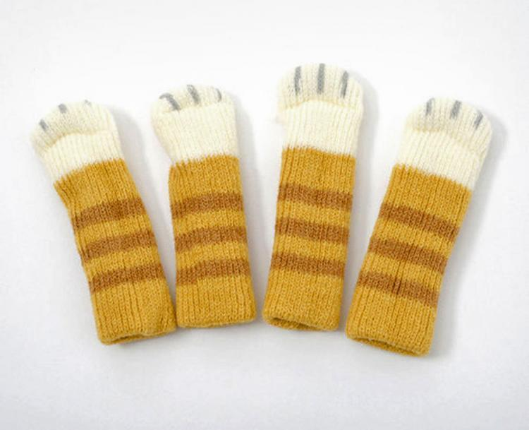 Cat Paw Chair Socks