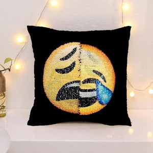 Changing Face Emoji (Cushion Cover)