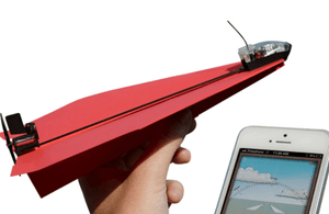 Chargeable Remote Paper Airplane
