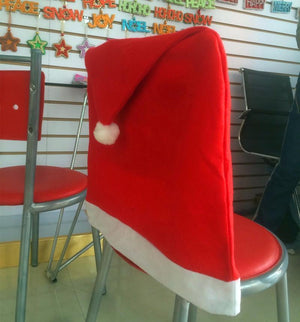 Christmas Theme Chair Cover