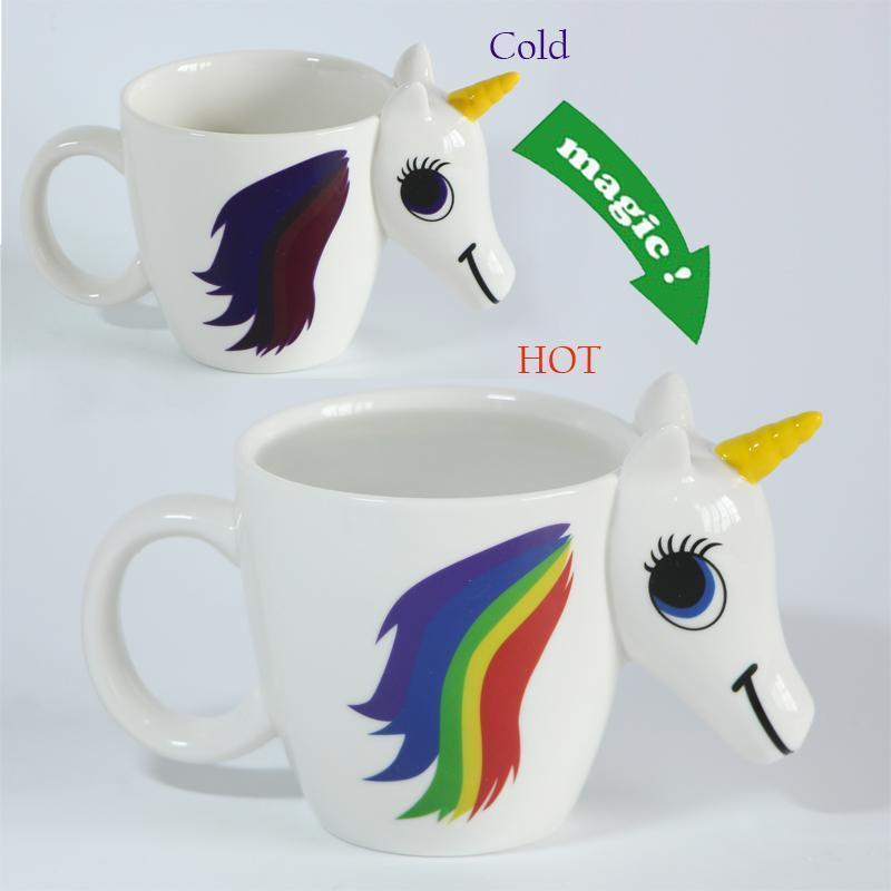 Colorful Unicorn Cup
