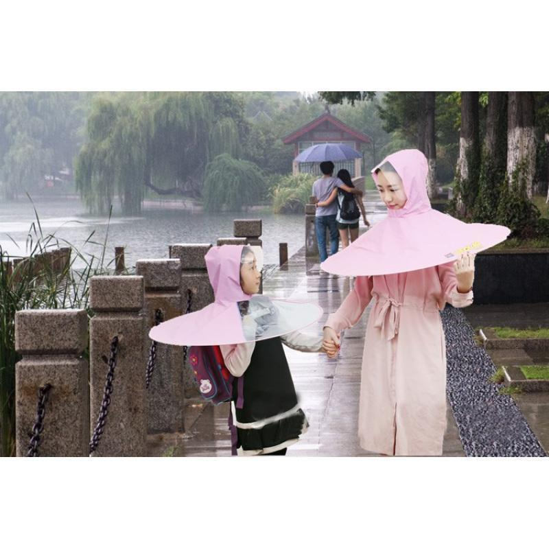 Creative Waterproof Umbrella Raincoat
