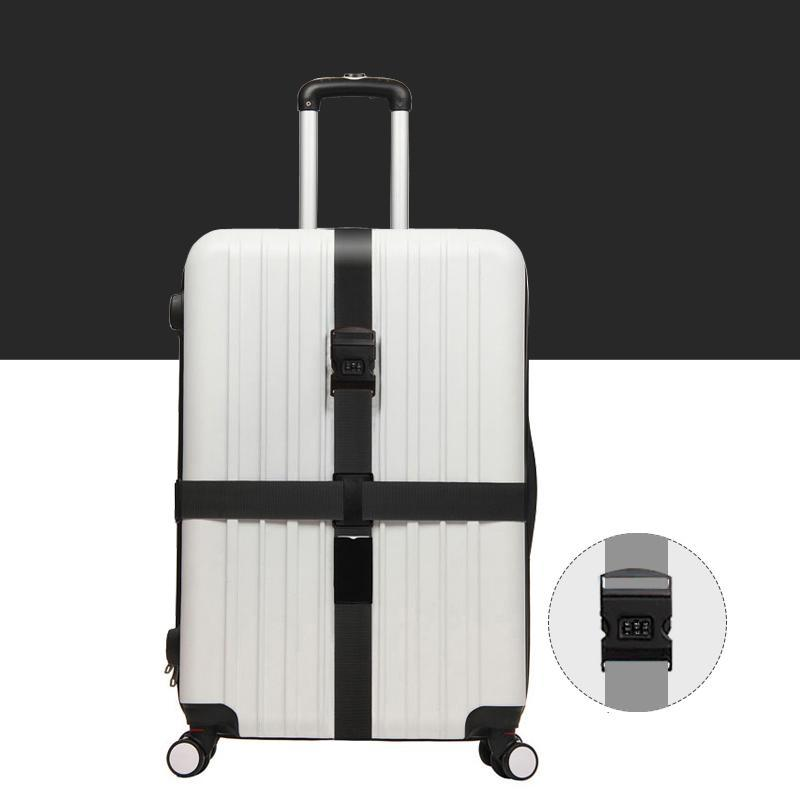 Cross Luggage Belt With Password Lock