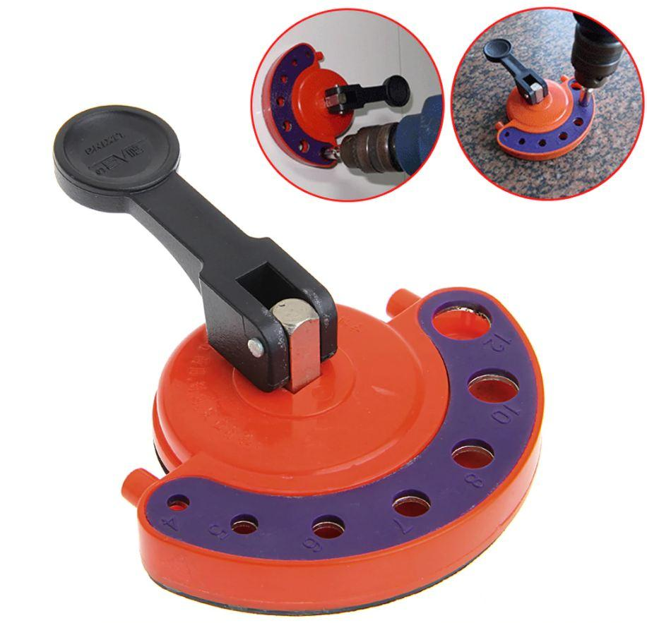 Adjustable Drill Bit Hole Positioner