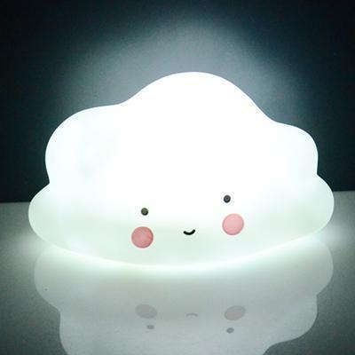 Cute LED Night Light Bedroom Deco