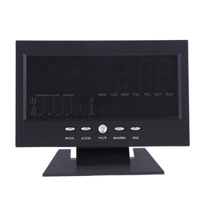 Digital Weather Station Clock