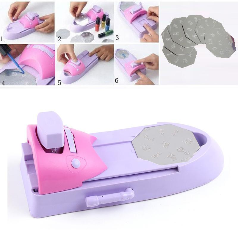 DIY Portable Nail Printer Art Stamping Tool