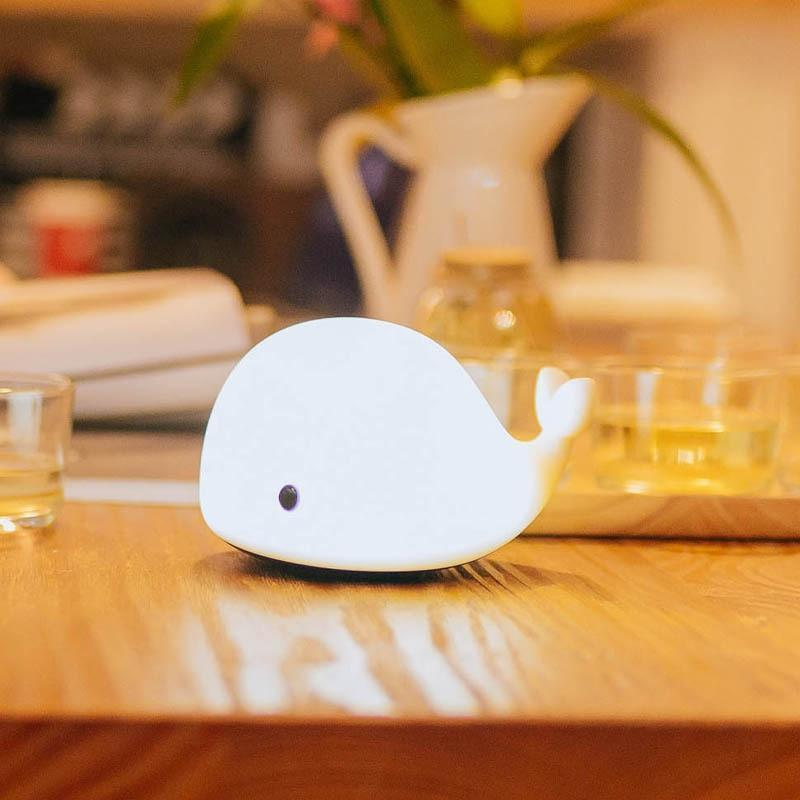 Dolphin USB Rechargeable Children Night Light