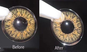 Electric Contact Lens Cleaner Storage