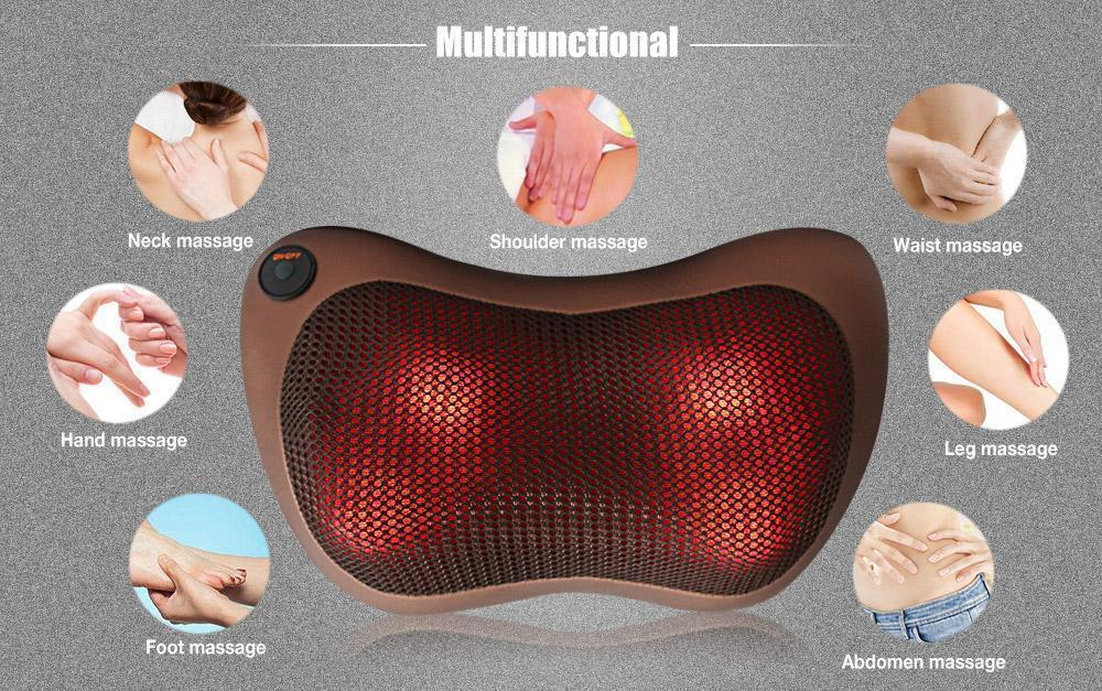 Electric Infrared Neck Body Pillow Massage