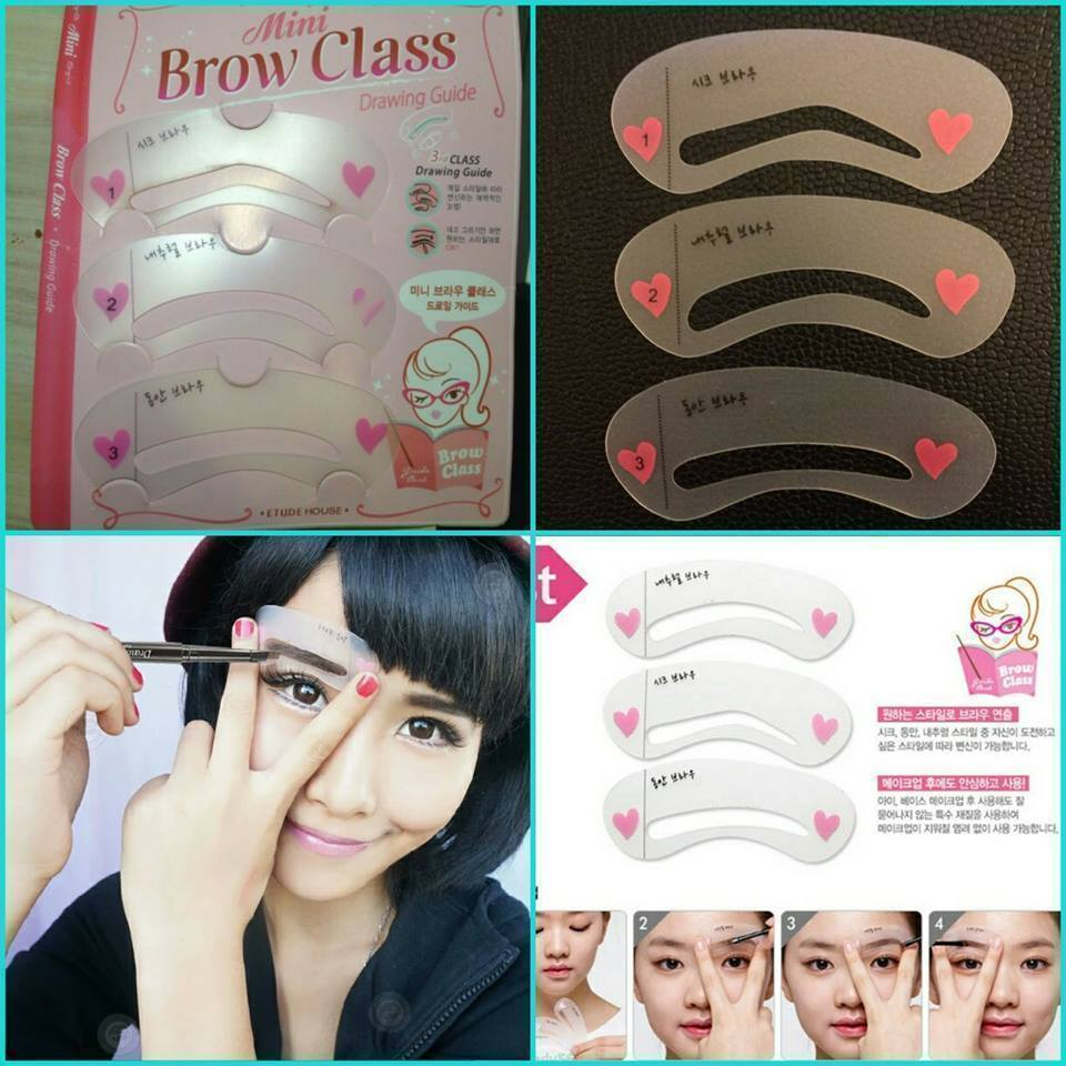 Eyebrow Drawing Card