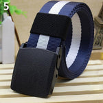 Fashion Military Nylon Buckle Waist Belt