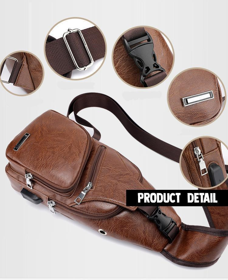 Fashionable USB Charge Bag