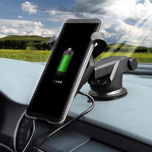 Fast Charge™ High-Speed Wireless Charger With Holder For IPhone And Android Phone