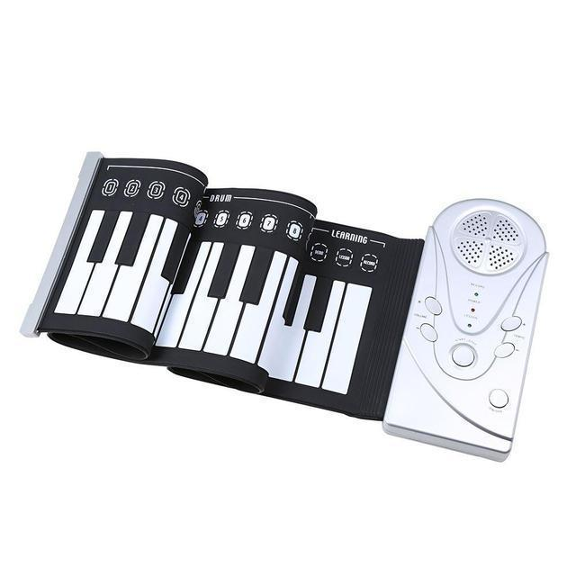 Flexible Roll-Up Piano
