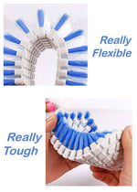 Flexible Soft Scouring Brush
