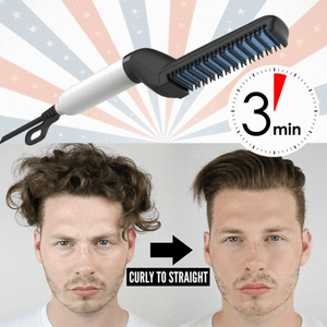 Hair Beard Heated Straightener