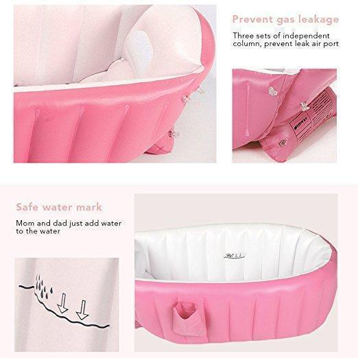 Inflatable Safety Baby Bathtub