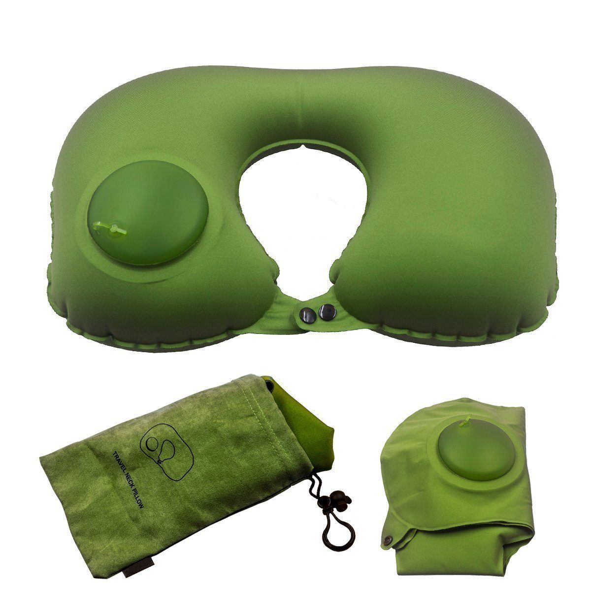 Inflatable Travel U Neck Pillow
