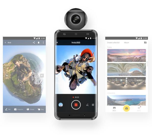 Insta 360 Air VR Clip On Camera