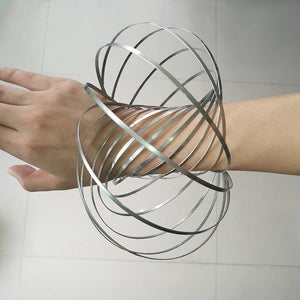 Kinetic Flow Ring Toy