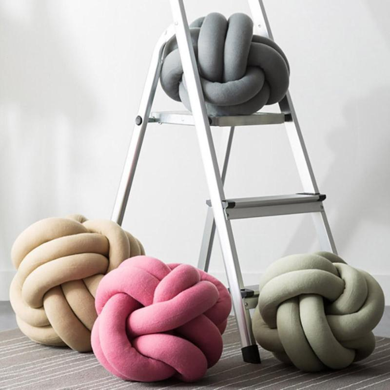 Knot Ball Pillow Cushion