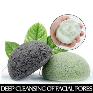 Konjac Facial Cleansing Make Up Sponge