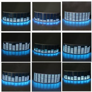 LED Car Music Window Equalizer
