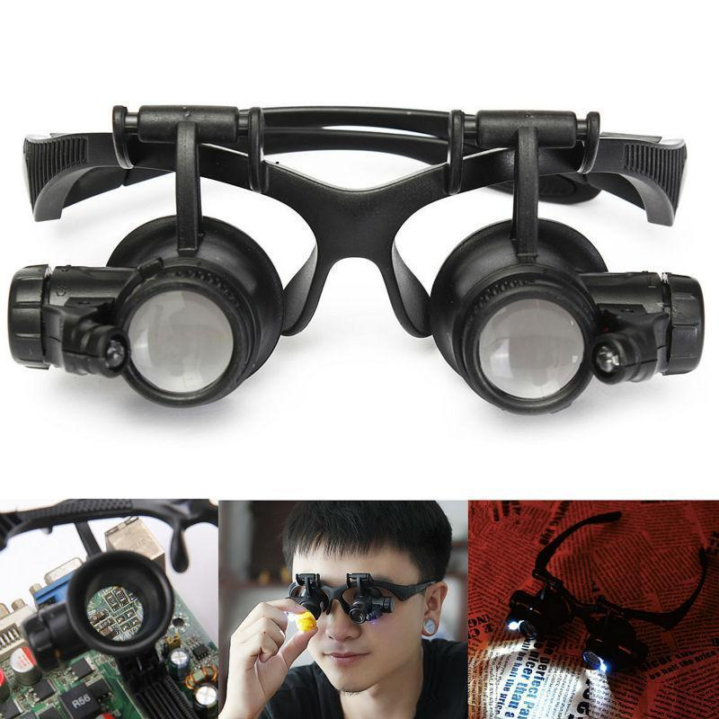 Light Magnifier Headwear Microscope Glasses