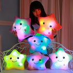 Luminous Glowing Star Pillow