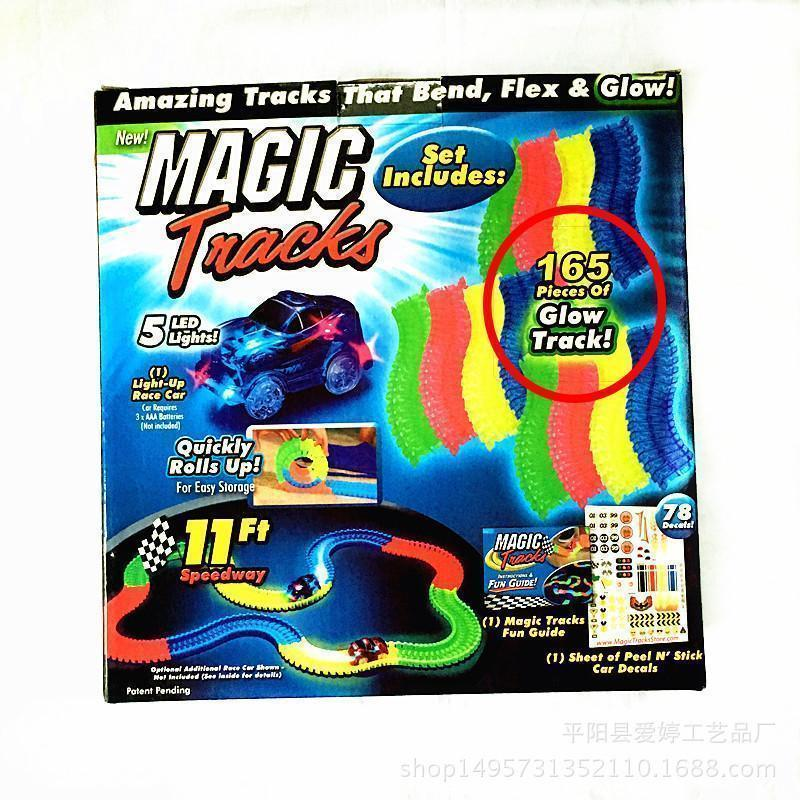 Magic GLow Racing Track Premium Set