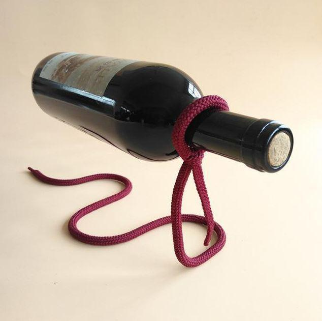 Magical Rope Wine Holder