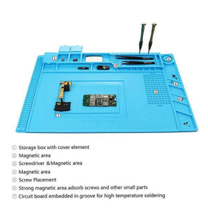Magnetic Heat Resistant Repair Mat