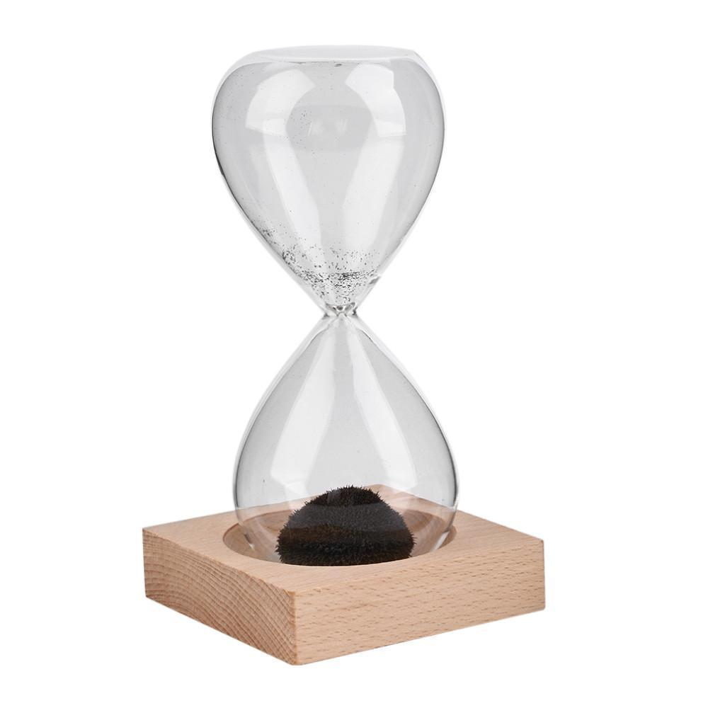 Magnetic Hourglass Sand Clock Deco