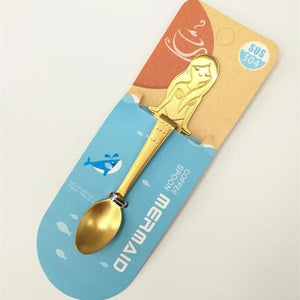 Mermaid Spoon Stainless Steel
