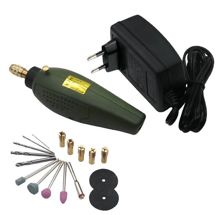 Mini Electric Drill Grinder Set